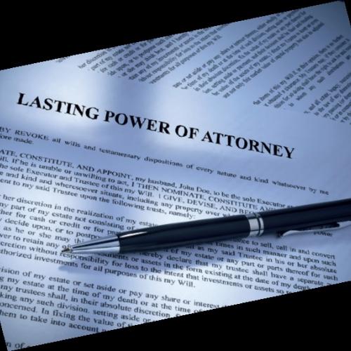 Single Power of Attorney