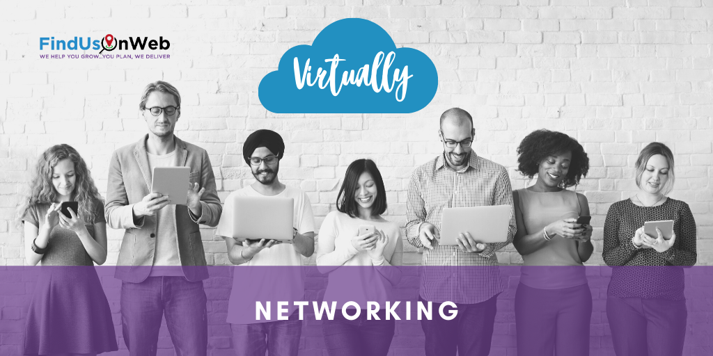 Find Us On Web Virtual Networking Event Isle of Wight 20 August 2020 1pm - 2pm