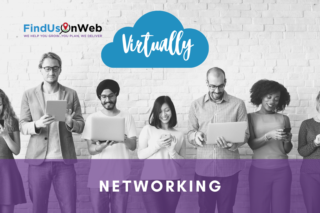 Find Us On Web Virtual Networking Event Southampton 12 August 2020 1pm-2pm