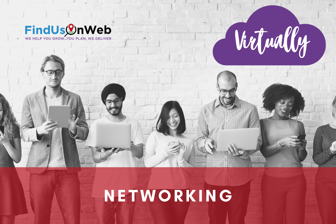 Find Us On Web Virtual Networking Event Isle of Man 19 August 2020 10am-11am